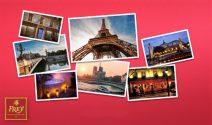 Romantisches Wochenende zu zweit in Paris, Wellness Wochenende, Migros Gutscheine und viele andere Preise gewinnen