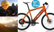 e-Bikes, Reisen, Sportbekleidung, Velos und vieles mehr gewinnen