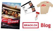 «Halbe Brüder» Fanpakete inklusive Kinotickets gewinnen