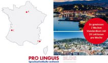 Zweiwöchigen Sprachaufenthalt in Nizza gewinnen