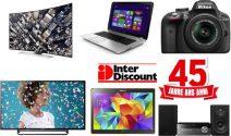 TV, Notebook, Kamera, Tablet, Sound-System und noch vieles mehr gewinnen