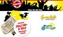 VIP-Tickets für die Open Air Greenfield und Touch the Air gewinnen