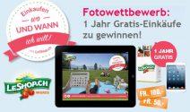 1 Jahr Gratis-Einkaufen oder iPad mini 3 gewinnen