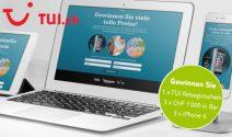 CHF 3'000 Gutschein von TUI, iPhone 6 und Bargeld gewinnen