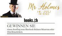 Ausflug zum Sherlock Holmes Museum und Tickets für den Film «Mr. Holmes» gewinnen