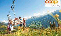 Eine Woche Familienferien  in einem Schweizer Reka-Feriendorf gewinnen