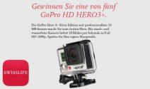 Eine GoPro Hero3+ Silver Kamera gewinnen