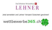 Lehner Versand Gutschein im Wert von CHF 100.- gewinnen