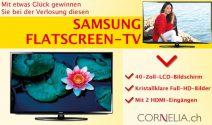 Samsung 40″ Flatscreen HD TV mit 2 HDMI Eingängen gewinnen