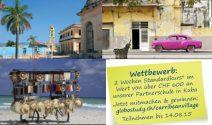 Zweiwöchigen Sprachkurs in Kuba im Wert von über CHF 600.- gewinnen