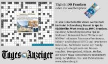 3x Hotelgutschein für Hotel Schneeberg Resort & Spa oder täglich CHF 100.- gewinnen