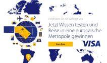Europa-Städtereise, Visa Prepaid Karte oder Galaxus Gutschein gewinnen