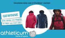 Eine von 2 Haglöfs Outdoor-Jacken (Damen- oder Herrenjacke) im Wert von je 439.- gewinnen