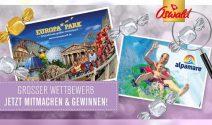 Familienwochenende im Europa-Park oder 4 Tickets für Alpamare gewinnen