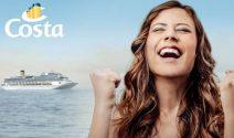 15 Costa Kreuzfahrten für Dich und eine Person Deiner Wahl gewinnen