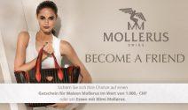 Modegutschein im Wert von CHF 1'000.- oder ein Essen mit Mimi Mollerus gewinnen