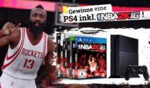 PS4 inkl. NBA 2K16 gewinnen