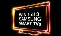 3x Einen Samsung Smart TV gewinnen