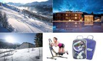 Skiferien auf der Lenzerheide und Sportausrüstung gewinnen