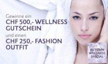 Wellness-Gutschein im Wert von CHF 500.- oder Street One Gutschein gewinnen