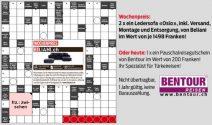 2x ein Ledersofa «Oslo» von Beliani oder Bentour Reise Gutschein gewinnen