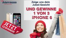 3x ein iPhone 6 Plus mit Ackermann gewinnen