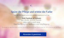 Wochenende zu zweit am Holi Festival of Colours in Zürich gewinnen