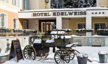 Wochenende zu zweit im Hotel Edelweiss in Sils-Maria inkl. Skipässe gewinnen