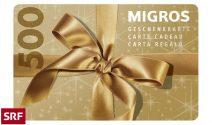 Eine Migros-Geschenkkarte im Wert von CHF 500.- gewinnen