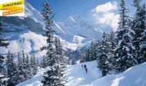 Jungfrau Skipass , eine Woche Skiferien und vieles mehr gewinnen!