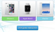 iPhone 6, Apple Watch oder iPad Air gewinnen