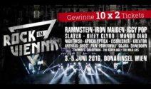 10 x 2 Rock in Vienna Tickets gewinnen