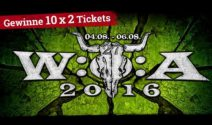 10 x 2 Wacken 2016 Tickets gewinnen