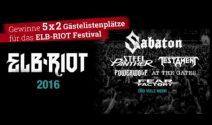 5 x 2 Elbriot Festival Tickets gewinnen