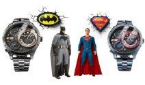 Batman und Superman Fansets inkl. Police Uhr im Wert von über CHF 480.- gewinnen