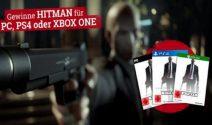 Hitman für PC, PS4 oder Xbox One gewinnen