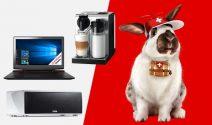 Lenovo Ideapad, Nespresso Maschine und Musicbox gewinnen