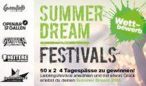 50 x 2 Festival 4-Tagespässe Tickets gewinnen