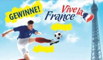 Reise nach Paris, Reise nach Lyon und EM Tickets gewinnen