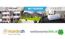 Hotelübernachtung in der Ostschweiz gewinnen!