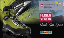8 x Trekkingschuhe, 10 x Transa Gutschein und Wellness Wochenende gewinnen