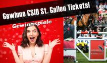 CSIO St. Gallen Tickets gewinnen!
