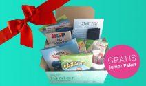 Junior Paket gratis erhalten