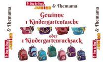 Kindergartentasche oder Kindergartenrucksack gewinnen