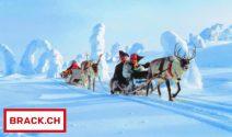 Lappland Ferien im Wert von CHF 10'000.- und 100 x Sofortpreise gewinnen