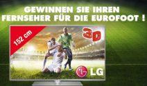LG 3D TV gewinnen