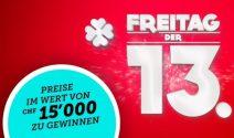 Swisslos Preise im Wert von CHF 15'000.- gewinnen