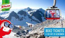 10 x 2 Tickets für Bergerlebnisse in den Alpen gewinnen