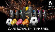 Café Royal Gutscheine und Kaffeekapseln als Sofortpreise gewinnen