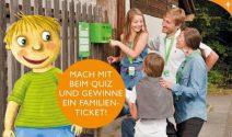 Familientickets für Familytrail in Zürich, Bern und Basel gewinnen